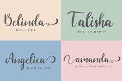 Web Font Dahlia Font Product Image 2