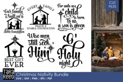 Christmas Nativity - Christmas SVG files for Crafters Product Image 1