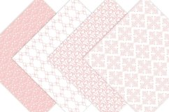 Pink Damask Digital Paper Product Image 4
