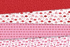 Valentines Day seamless patterns Product Image 5