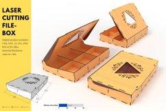 Box- laser cutting file Product Image 1
