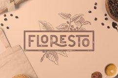 Floresto Textured Vintage Typeface Product Image 1