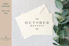 Bundle Mockup Card and Envelope in PSD and JPG | Card mockup Product Image 10