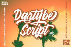 Dartybe Script Product Image 1
