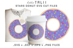 Stars Donut SVG Cut files Product Image 1
