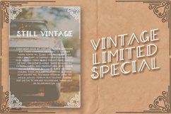 Aradeva Vintage Display Font Product Image 2
