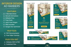 Real Estate | Interior Designer Banner Ad Template - RE001 Product Image 1