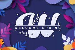 Retro Spring - Monogram Product Image 2