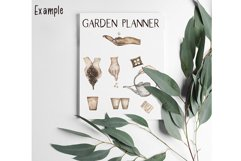 Watercolor Planting time, Gardening Clipart Product Image 3