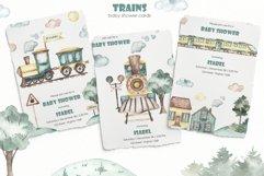 Transport bundle. Watercolor Product Image 19
