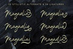 Magnolia A Stylish Calligraphy Font Product Image 3