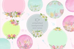Floral Design Pack watercolor & pastel Product Image 4