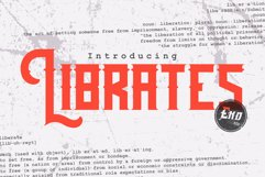 Librates Typeface Product Image 1