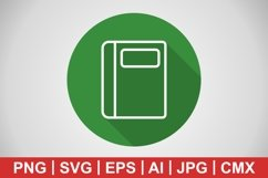 Vector Notebook Icon Product Image 1