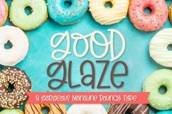 Good Glaze - A Clean Hand Lettered Sans Serif with Ligatures Product Image 1