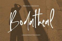 Web Font Bodatheal - A Handwritten Font Product Image 1