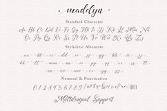 madelyn - Chic Script font Product Image 4