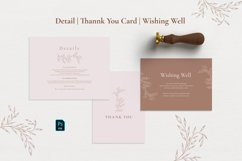 Minimal Sketch Floral Invitation Suite Product Image 6