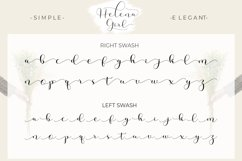 Helena Girl - a smooth line script Product Image 5