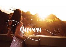 Queen Script Font 3