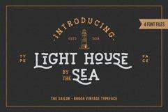 LightHouse - Vintage Sailor Rough Typeface Product Image 1