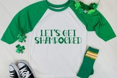 Web Font Pinch Proof - A Hand-Lettered St. Patrick's Day Fon Product Image 2
