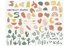 150 modern abstract design elements - floral illustrations Product Image 2