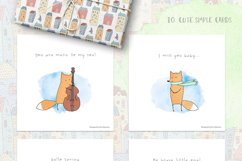 Cute Vector&Watercolor graphics Product Image 6