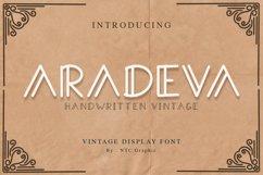 Aradeva Vintage Display Font Product Image 1