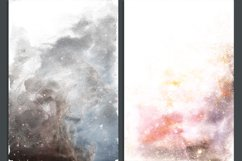 Galaxy Watercolor Ombre Backgrounds Product Image 2