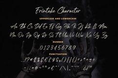 Frintake - Brush Calligraphy Font Product Image 4
