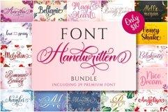Bundle Handwritten font Product Image 1