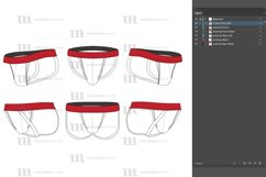 Jockstraps - Vector Mockup Template Product Image 2