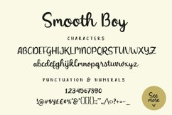 Smooth Boy - Fonts & Icons Product Image 4