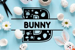 Easter Split Monogram Font Product Image 4
