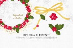 Holiday Alphabet Design Set Product Image 6