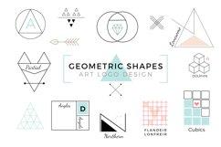 Vector Geometric Shapes & Art Logo Product Image 1