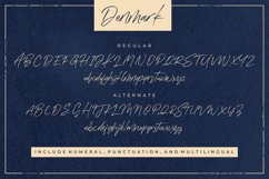 Denmark Handwritten Font Product Image 5