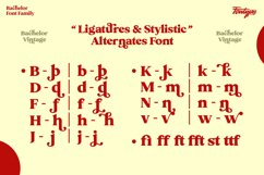 Bachelor Font Family - Vintage Bold Serif Font Feminine Styl Product Image 4