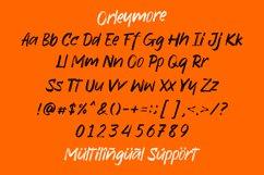 Orleymore - Brush Font Product Image 2