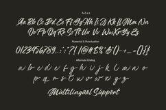Monday Handbrush - A Brush Script Font Product Image 2