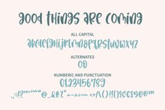 Good things are coming - An informal mixedcase font Product Image 5