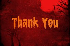Bloody Camp - a Horror Blood Font Product Image 5