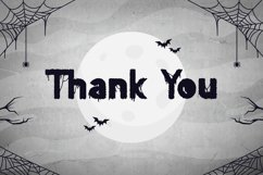 Sticky Web - Spooky Horror Font Product Image 6