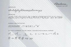 Almaheera - modern monoline font Product Image 6