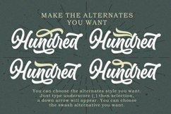 Hundred Miracles - Urban Retro Font Product Image 3