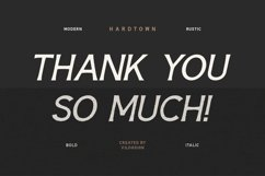 Hardtown a Vintage Sans Serif Display Font Family Product Image 2