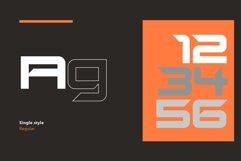 SB Sonar - Futuristic Font Product Image 2