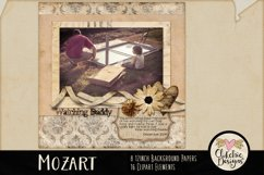 Digital Scrapbook Kit, Music Scrapbooking clipart Product Image 4