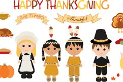 Thanksgiving Characters Product Image 1